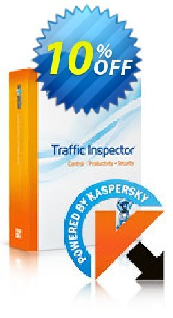 Traffic Inspector + Traffic Inspector Anti-Virus Gold 20 Coupon, discount Traffic Inspector+Traffic Inspector Anti-Virus powered by Kaspersky (1 Year) Gold 20 wondrous discount code 2021. Promotion: wondrous discount code of Traffic Inspector+Traffic Inspector Anti-Virus powered by Kaspersky (1 Year) Gold 20 2021