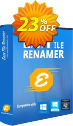 Easy File Renamer Family Pack - 1 year  Coupon, discount 20% OFF Easy File Renamer Family Pack (1 year), verified. Promotion: Imposing deals code of Easy File Renamer Family Pack (1 year), tested & approved