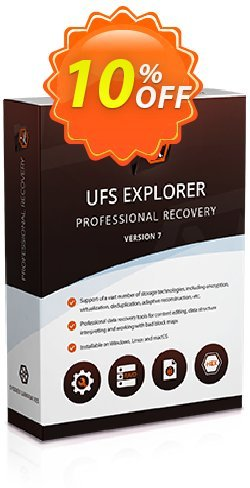 UFS Explorer Professional Recovery for Linux - Corporate License - 1 year of updates  Coupon discount UFS Explorer Professional Recovery for Linux - Corporate License (1 year of updates) special promotions code 2021. Promotion: special promotions code of UFS Explorer Professional Recovery for Linux - Corporate License (1 year of updates) 2021