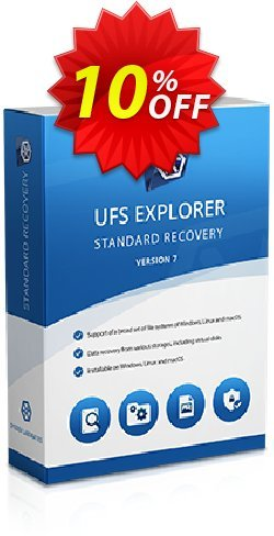 UFS Explorer Standard Recovery for macOS - Personal License (1 year of updates) Coupon, discount UFS Explorer Standard Recovery for macOS - Personal License (1 year of updates) special discount code 2019. Promotion: special discount code of UFS Explorer Standard Recovery for macOS - Personal License (1 year of updates) 2019