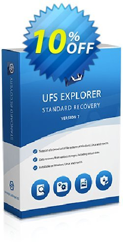 UFS Explorer Standard Recovery for Windows - Personal License (1 year of updates) Coupon, discount UFS Explorer Standard Recovery for Windows - Personal License (1 year of updates) amazing discounts code 2019. Promotion: amazing discounts code of UFS Explorer Standard Recovery for Windows - Personal License (1 year of updates) 2019