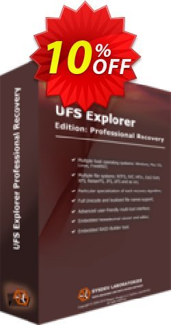 UFS Explorer Professional Recovery - version 5 for Windows - Personal License Coupon discount UFS Explorer Professional Recovery (version 5 for Windows) - Personal License amazing deals code 2020 - amazing deals code of UFS Explorer Professional Recovery (version 5 for Windows) - Personal License 2020