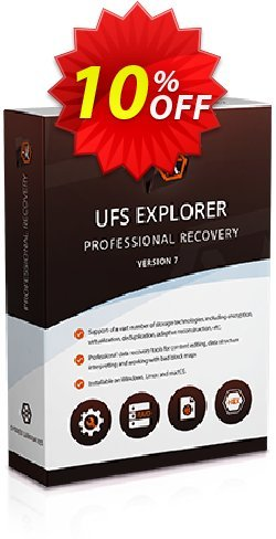 UFS Explorer Professional Recovery - version 5 for Windows - Business License Coupon discount UFS Explorer Professional Recovery (version 5 for Windows) - Business License imposing promo code 2020. Promotion: imposing promo code of UFS Explorer Professional Recovery (version 5 for Windows) - Business License 2020