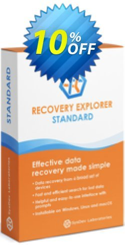 Recovery Explorer Standard - for Windows - Personal License Coupon discount Recovery Explorer Standard (for Windows) - Personal License awesome promotions code 2020 - awesome promotions code of Recovery Explorer Standard (for Windows) - Personal License 2020