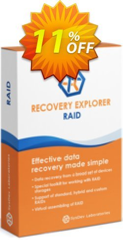 Recovery Explorer RAID - for Linux - Personal License Coupon discount Recovery Explorer RAID (for Linux) - Personal License amazing deals code 2020 - amazing deals code of Recovery Explorer RAID (for Linux) - Personal License 2020