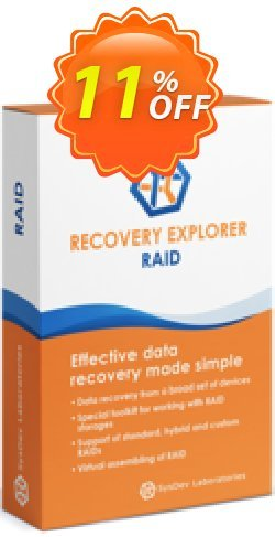 Recovery Explorer RAID - for Mac OS - Personal License Coupon discount Recovery Explorer RAID (for Mac OS) - Personal License super offer code 2020. Promotion: super offer code of Recovery Explorer RAID (for Mac OS) - Personal License 2020