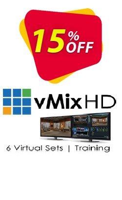 vMix HD + Virtual Set Pack One for vMix Bundle Coupon, discount 20% OFF vMix HD + Virtual Set Pack One for vMix bundle, verified. Promotion: Wonderful promotions code of vMix HD + Virtual Set Pack One for vMix bundle, tested & approved