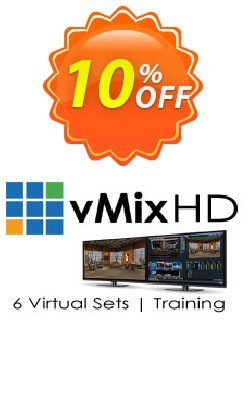 Virtual Set Pack One for vMix Coupon, discount Virtual Set Pack One for vMix Amazing discount code 2021. Promotion: Amazing discount code of Virtual Set Pack One for vMix 2021