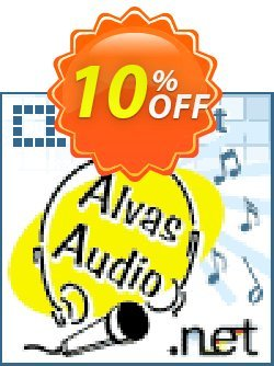 Alvas.Audio Lifetime Team License Coupon, discount Alvas.Audio Lifetime Team License staggering promo code 2019. Promotion: staggering promo code of Alvas.Audio Lifetime Team License 2019
