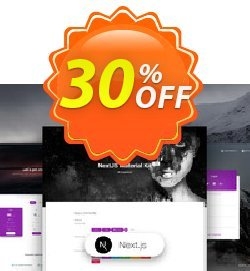 NextJS Material Kit PRO Coupon, discount NextJS Material Kit PRO Awesome sales code 2020. Promotion: Impressive sales code of NextJS Material Kit PRO 2020