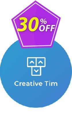 Creative-tim Autumn Big Bundle Coupon, discount 30% OFF Creative-tim Summer Bundle, verified. Promotion: Wondrous promo code of Creative-tim Summer Bundle, tested & approved