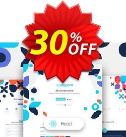 Argon Design System PRO React Coupon, discount YK6K. Promotion: Awful offer code of Argon Design System PRO React 2021