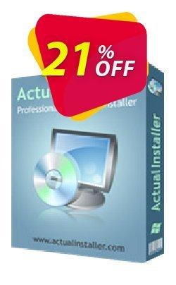 Actual Installer Pro Coupon, discount Actual Installer Pro dreaded discount code 2021. Promotion: dreaded discount code of Actual Installer Pro 2021