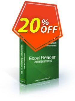 Excel Reader .NET - 4 Developer Licenses Coupon discount Excel Reader .NET - 4 Developer Licenses excellent offer code 2021. Promotion: excellent offer code of Excel Reader .NET - 4 Developer Licenses 2021