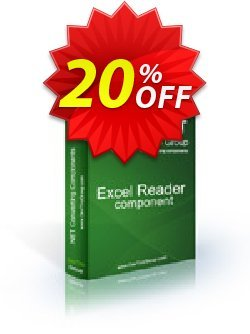 Excel Reader .NET - Source Code License Coupon, discount Excel Reader .NET - Source Code License awful discounts code 2021. Promotion: awful discounts code of Excel Reader .NET - Source Code License 2021