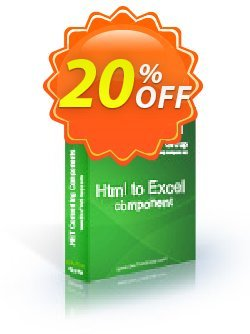 Html To Excel .NET - Developer License LITE Coupon discount Html To Excel .NET - Developer License LITE wondrous discount code 2020. Promotion: wondrous discount code of Html To Excel .NET - Developer License LITE 2020