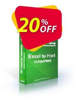 Excel To Html .NET - Developer License LITE Coupon, discount Excel To Html .NET - Developer License LITE amazing deals code 2020. Promotion: amazing deals code of Excel To Html .NET - Developer License LITE 2020