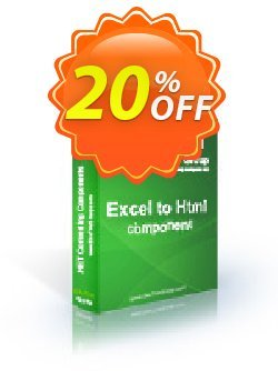 Excel To Html .NET - Site License Coupon, discount Excel To Html .NET - Site License stunning offer code 2021. Promotion: stunning offer code of Excel To Html .NET - Site License 2021
