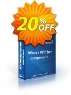Word Writer .NET - Site License Coupon discount Word Writer .NET - Site License impressive promotions code 2021 - impressive promotions code of Word Writer .NET - Site License 2021
