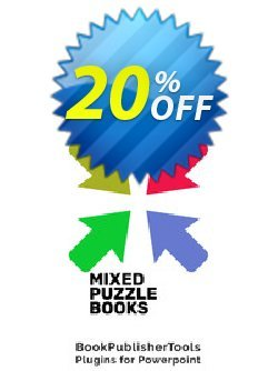 Mixed Puzzle Books Coupon, discount Mixed Puzzle Books (Plugin for Powerpoint) Amazing deals code 2021. Promotion: Amazing deals code of Mixed Puzzle Books (Plugin for Powerpoint) 2021