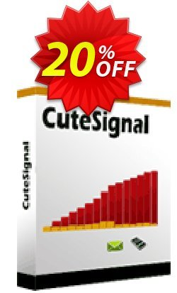Cutesignal  - Monthly Subscription Coupon, discount Cutesignal  - Monthly Subscription staggering promo code 2020. Promotion: amazing offer code of Cutesignal  - Monthly Subscription 2020