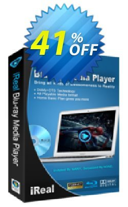 iReal Blu-ray Media Player Coupon, discount iReal Blu-ray Media Player stunning offer code 2020. Promotion: stunning offer code of iReal Blu-ray Media Player 2020