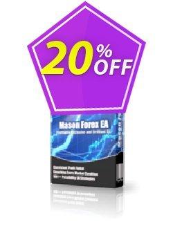 Mason Forex EA Professional Plan Coupon, discount Mason Forex EA Professional Plan amazing promo code 2020. Promotion: amazing promo code of Mason Forex EA Professional Plan 2020