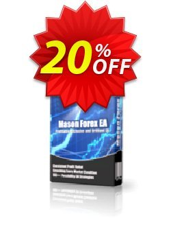 Mason Forex EA Standard Plan Coupon, discount Mason Forex EA Standard Plan amazing offer code 2020. Promotion: amazing offer code of Mason Forex EA Standard Plan 2020