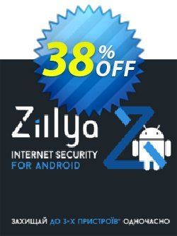 Zillya! Internet Security for Android Coupon, discount Zillya! Internet Security for Android amazing discount code 2020. Promotion: amazing discount code of Zillya! Internet Security for Android 2020