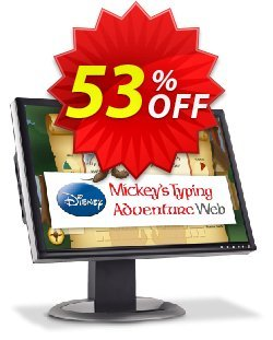Disney: Mickey's Typing Adventure Web - Annual Subscription  Coupon, discount 30% OFF Disney: Mickey's Typing Adventure Web, verified. Promotion: Amazing promo code of Disney: Mickey's Typing Adventure Web, tested & approved