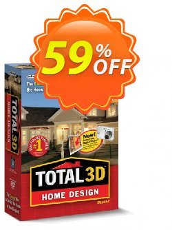 Total 3D Home Design Deluxe Coupon discount 40% OFF Total 3D Home Design Deluxe, verified - Amazing promo code of Total 3D Home Design Deluxe, tested & approved