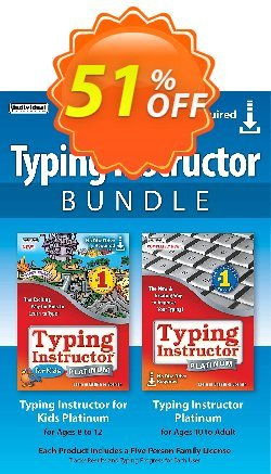 Typing Instructor Bundle Coupon, discount 30% OFF Typing Instructor Bundle, verified. Promotion: Amazing promo code of Typing Instructor Bundle, tested & approved