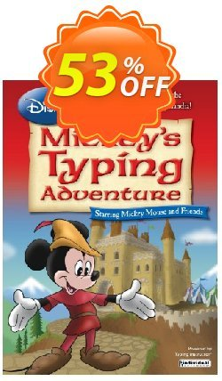 Disney: Mickey's Typing Adventure - International Version US Keyboard Coupon, discount 30% OFF Disney: Mickey, verified. Promotion: Amazing promo code of Disney: Mickey, tested & approved