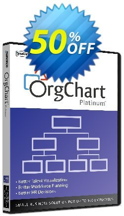 OrgChart Platinum - 100 Employees  Coupon, discount 40% OFF OrgChart Platinum (100 Employees), verified. Promotion: Amazing promo code of OrgChart Platinum (100 Employees), tested & approved