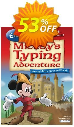 Disney: Mickey's Typing Adventure - International Version UK Keyboard Coupon discount 30% OFF Disney: Mickey's Typing Adventure - International Version UK Keyboard, verified - Amazing promo code of Disney: Mickey's Typing Adventure - International Version UK Keyboard, tested & approved