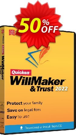 Quicken WillMaker & Trust 2020 Coupon, discount Quicken® WillMaker® Plus 2020 - Windows Super promo code 2020. Promotion: Amazing promo code of Quicken® WillMaker Plus 2020, tested in October 2020