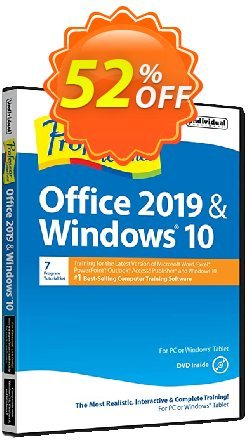 Professor Teaches Office 2019 & Windows 10 Coupon, discount COMPUTER. Promotion: exclusive promo code of Professor Teaches® Office 2020 & Windows® 10 2020