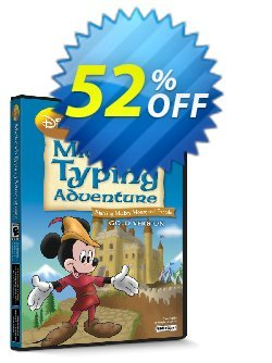 Disney: Mickey's Typing Adventure Gold for Mac Coupon discount TYPENOW - imposing sales code of Disney: Mickey's Typing Adventure – Gold (Mac) 2021