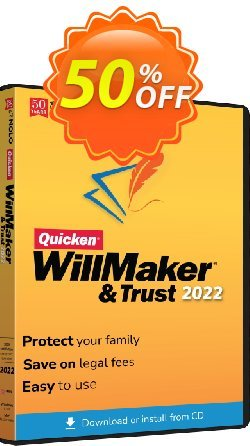 Quicken WillMaker & Trust 2020 - MAC  Coupon, discount Quicken® WillMaker® Plus 2020 - Mac Big sales code 2020. Promotion: Stunning sales code of Quicken® WillMaker® Plus 2020 - Mac 2020
