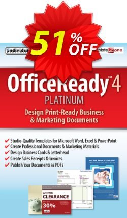 OfficeReady 4 Platinum Coupon, discount 30% OFF OfficeReady 4 Platinum, verified. Promotion: Amazing promo code of OfficeReady 4 Platinum, tested & approved