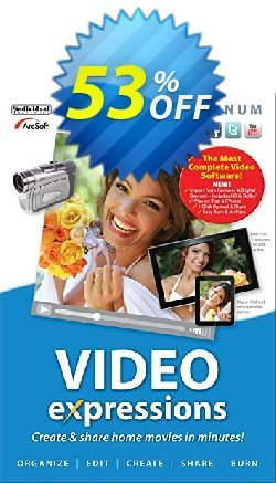 Video Expression Platinum Coupon, discount 30% OFF Video Expression Platinum, verified. Promotion: Amazing promo code of Video Expression Platinum, tested & approved