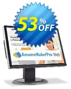 ResumeMaker Professional for Web - Quarterly Subscription  Coupon, discount 30% OFF ResumeMaker Professional for Web (Quarterly Subscription), verified. Promotion: Amazing promo code of ResumeMaker Professional for Web (Quarterly Subscription), tested & approved