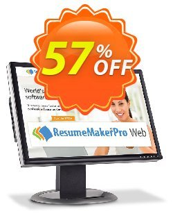 ResumeMaker Professional for Web - Monthly Subscription  Coupon, discount 30% OFF ResumeMaker Professional for Web (Monthly Subscription), verified. Promotion: Amazing promo code of ResumeMaker Professional for Web (Monthly Subscription), tested & approved