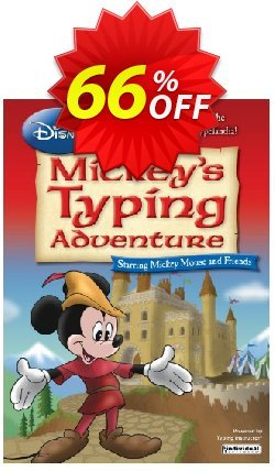 Disney: Mickey's Typing Adventure Coupon, discount 58% OFF Disney: Mickey's Typing Adventure, verified. Promotion: Amazing promo code of Disney: Mickey's Typing Adventure, tested & approved