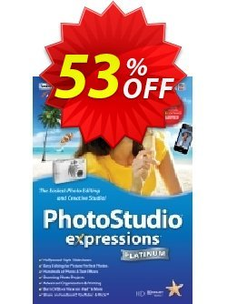 PhotoStudio Expressions Platinum Coupon, discount PhotoStudio Expressions Platinum 6 stirring discounts code 2020. Promotion: stirring discounts code of PhotoStudio Expressions Platinum 6 2020