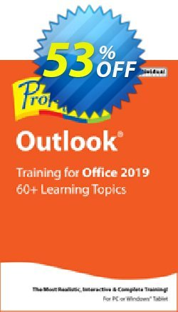 Professor Teaches Outlook 2019 Coupon, discount Professor Teaches Outlook 2013 super promotions code 2020. Promotion: super promotions code of Professor Teaches Outlook 2013 2020