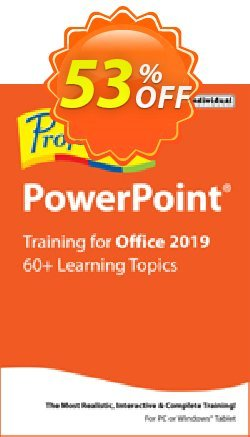 Professor Teaches PowerPoint 2019 Coupon discount Professor Teaches PowerPoint 2013 special discount code 2021 - special discount code of Professor Teaches PowerPoint 2013 2021