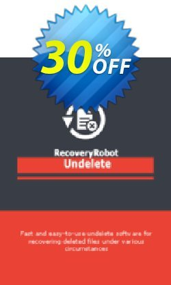 RecoveryRobot Undelete  - Business  Coupon, discount RecoveryRobot Undelete [Business] amazing sales code 2021. Promotion: amazing sales code of RecoveryRobot Undelete [Business] 2021