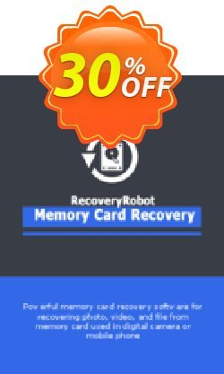 RecoveryRobot Memory Card Recovery  - Business  Coupon, discount RecoveryRobot Memory Card Recovery [Business] amazing offer code 2021. Promotion: amazing offer code of RecoveryRobot Memory Card Recovery [Business] 2021