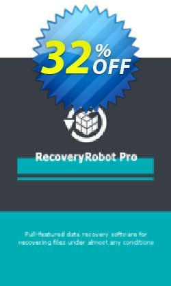 RecoveryRobot Pro  - Single User  Coupon, discount RecoveryRobot Pro [Single User] exclusive promotions code 2021. Promotion: exclusive promotions code of RecoveryRobot Pro [Single User] 2021